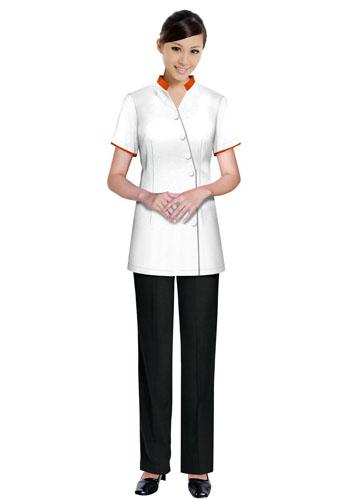 白色保洁服