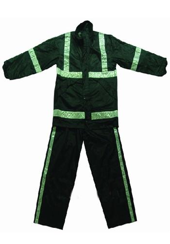 墨绿色环卫服