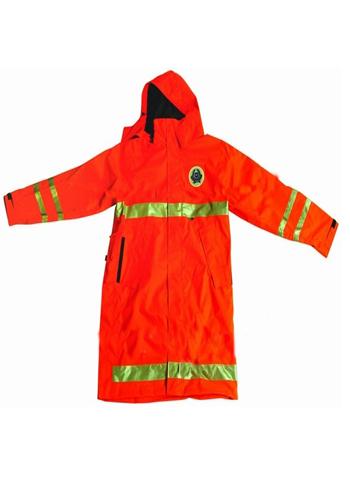 橘红色环卫服