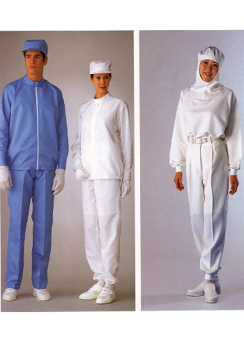 蓝色防静电工作服