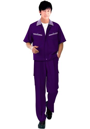 紫色职业装