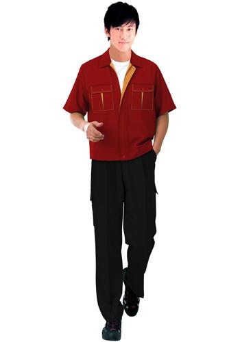 红色职业装