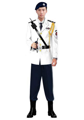 新款男保安服