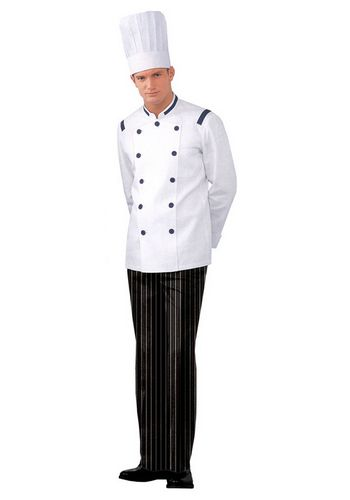 定制男款厨师服