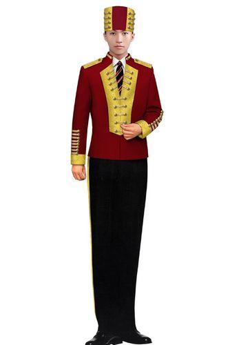 酒店门童服装5