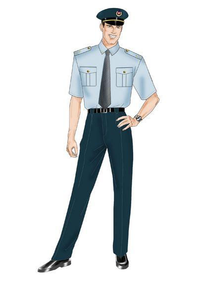 高级订制执法西服