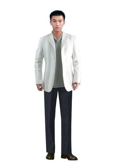 北京时尚男西服