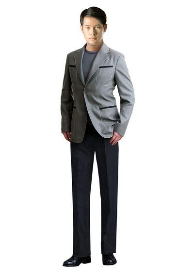 时尚男西服