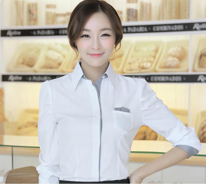 面包店衬衫