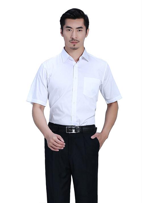 高级半袖衬衫定做