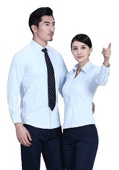 长袖定做衬衫怎么折叠
