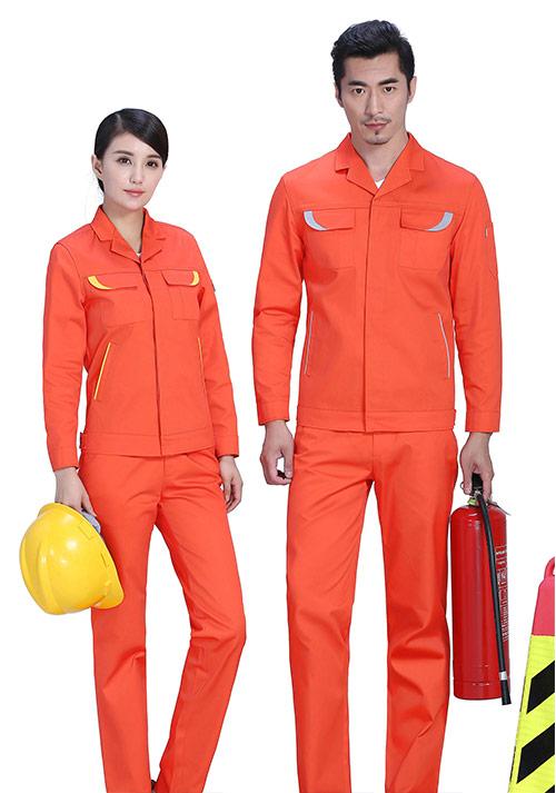 统一定做工装工作服有什么好处?企业定做工装工作服的好处